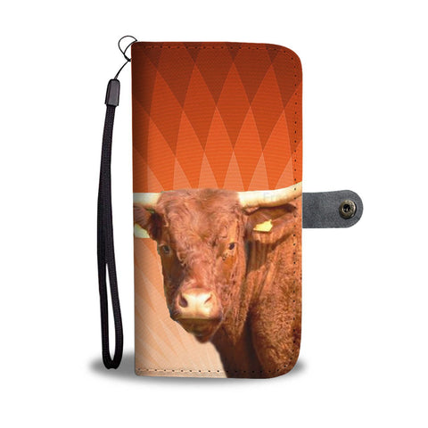 Salers Cattle (Cow) Print Wallet Case-Free Shipping