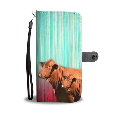 Beefmaster Cattle (Cow) Print Wallet Case-Free Shipping