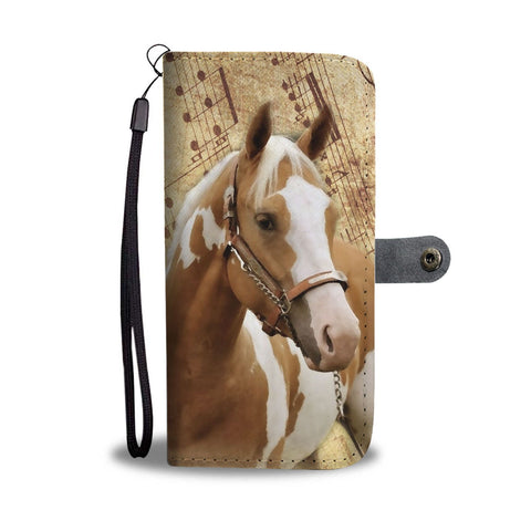 Amazing American Paint Horse Wallet Case- Free Shipping