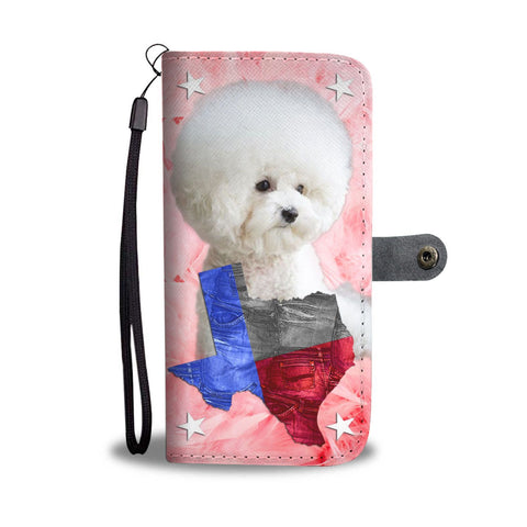 Lovely Bichon Frise Wallet Case-Free Shipping- TX State