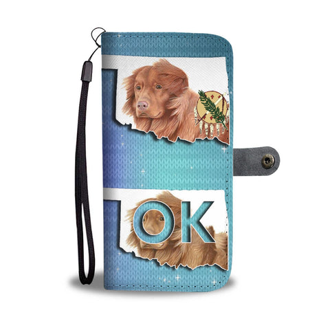 Nova Scotia Duck Tolling Retriever Print Wallet Case-Free Shipping-OK State