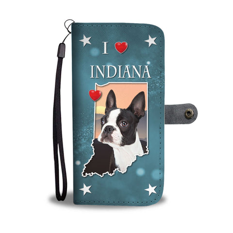 Amazing Boston Terrier Print Wallet Case-Free Shipping-IN State
