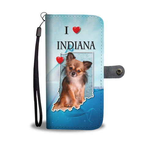 Lovely Chihuahua Print Wallet Case-Free Shipping-IN State