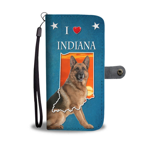 German Shepherd Print Wallet Case-Free Shipping-IN State