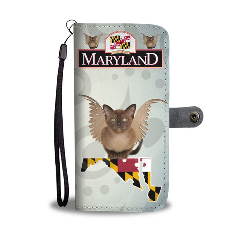 Burmese cat Print Wallet Case-Free Shipping-MD State