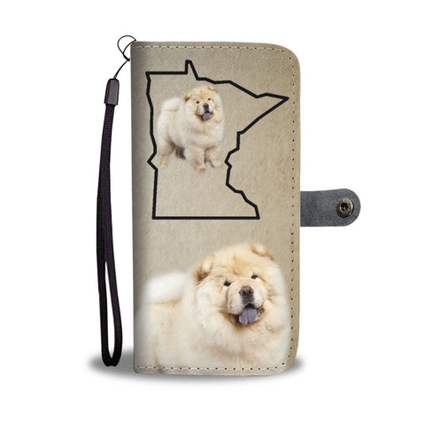 Chow Chow Print Wallet Case-Free Shipping-MN State