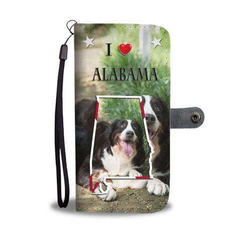Bernese Mountain Dog Print Wallet Case-Free Shipping-AL State
