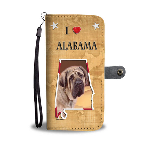 English Mastiff Dog Print Wallet Case-Free Shipping-AL Shipping