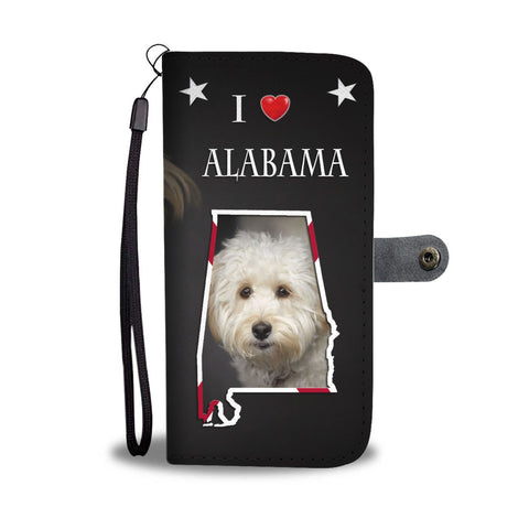 Labradoodle Print Wallet Case-Free Shipping-AL State