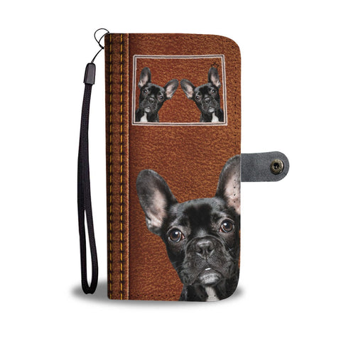 French Bulldog Print Wallet Case-Free Shipping-CO State