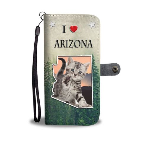 American Shorthair Cat Print Wallet Case-Free Shipping-AZ State