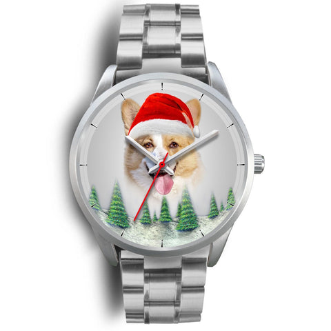 Cute Pembroke Welsh Corgi Christmas Wrist Watch-Free Shipping