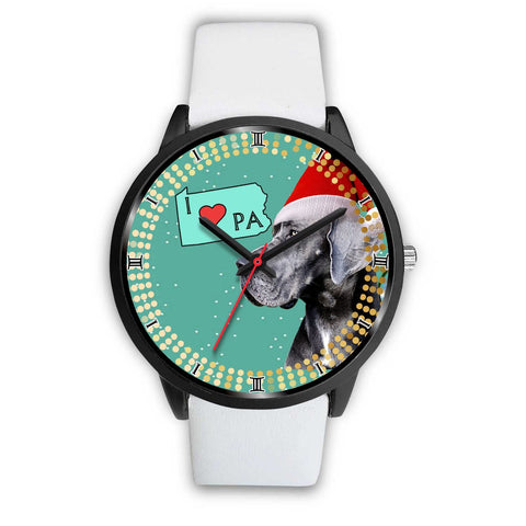 Great Dane Dog Pennsylvania Christmas Special Wrist Watch-Free Shipping