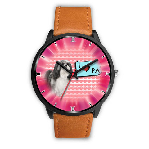 Cute Lhasa Apso Dog Pennsylvania Christmas Special Wrist Watch-Free Shipping