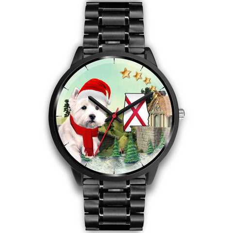 West Highland White Terrier Alabama Christmas Special Wrist Watch-Free Shipping