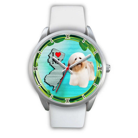 Cute Havanese Dog New Jersey Christmas Special Wrist Watch-Free Shipping