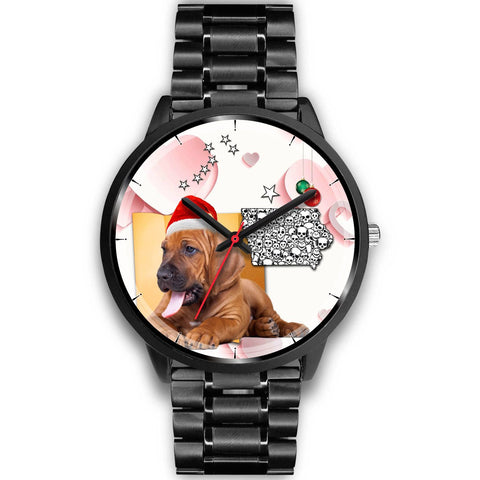 Bloodhound Iowa Christmas Special Wrist Watch-Free Shipping