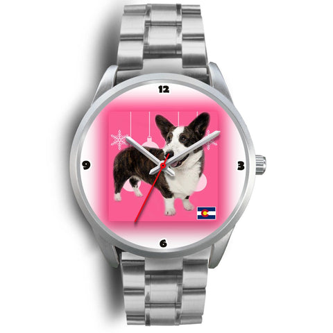 Cardigan Welsh Corgi Colorado Christmas Special Wrist Watch-Free Shipping