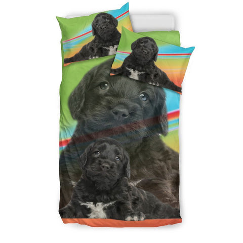Cute Portuguese Water Puppies Print Bedding Sets-Free Shipping