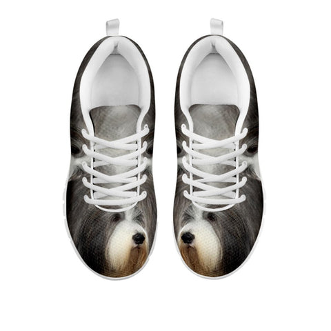 Amazing Bearded Collie Dog Print Running Shoes For Women-Free Shipping-For 24 Hours Only