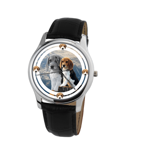 Cute Beagle Fashion Unisex Wrist Watch- Free Shipping-Paww-Printz-Merchandise