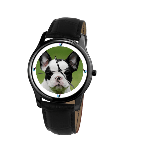 French Bulldog Unisex Wrist Watch-Free Shipping-Paww-Printz-Merchandise