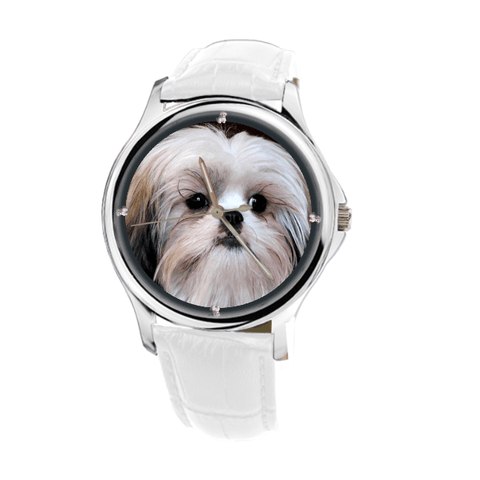 Shih Tzu Women Fashion Wrist Watch- Free Shipping-Paww-Printz-Merchandise