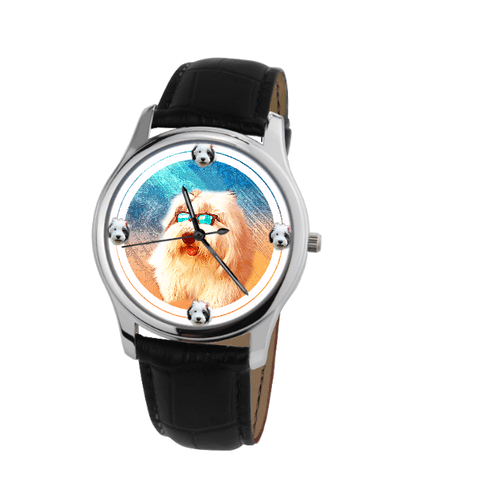 Old English Sheepdog Unisex Wrist Watch- Free Shipping-Paww-Printz-Merchandise