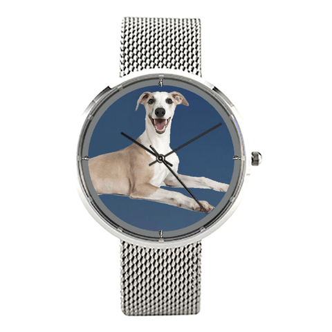 Luxury Whippet Unisex Wrist Watch - Free Shipping-Paww-Printz-Merchandise