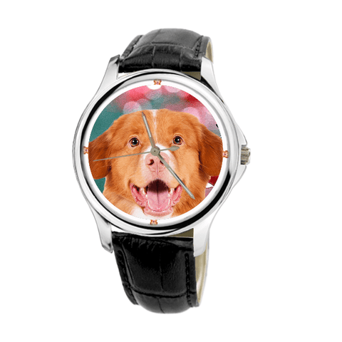 Nova Scotia Duck Tolling Retriever Unisex Wrist Watch- Free Shipping-Paww-Printz-Merchandise