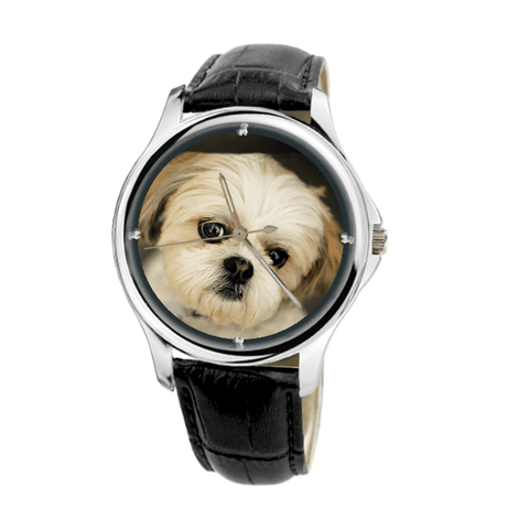 Shih Tzu Unisex Fashion Wrist Watch- Free Shipping-Paww-Printz-Merchandise