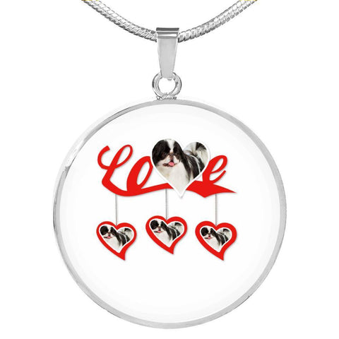 Japanese Chin Print Luxury Necklace-Free Shipping