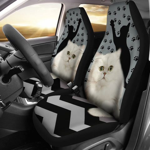 Persian Cat Paws Print Car Seat Covers-Free Shipping