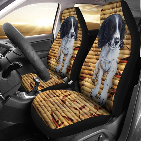 Cute English Springer Spaniel Print Car Seat Covers-Free Shipping