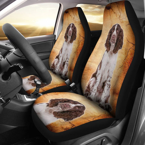 Lovely English Springer Spaniel Print Car Seat Covers-Free Shipping