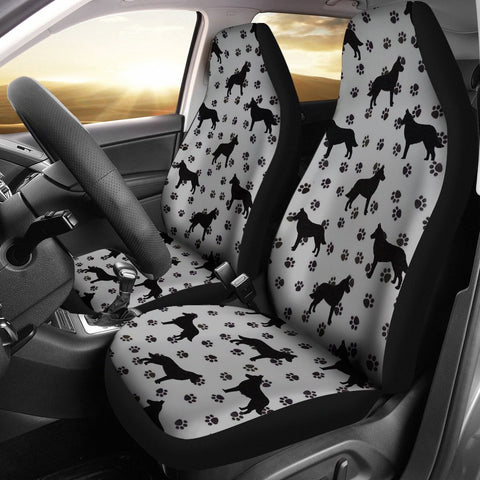 Malinois Dog On Paws Print Car Seat Covers-Free Shipping