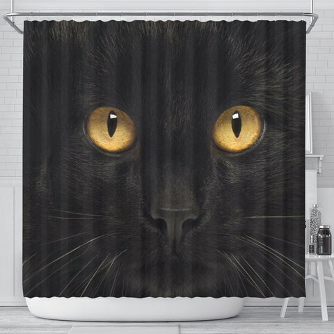 Bombay cat Print Shower Curtain-Free Shipping