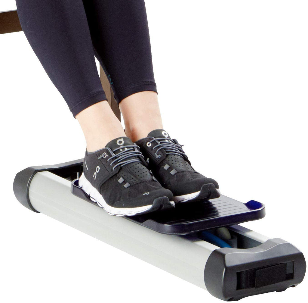 Portable Under Desk Leg Trainer - Tired of Bumping Your Knees Against The Desk While Exercising. LegPET is The Solution to Your Problem - Tone Your Leg Muscles, Burn Calories, and Improve Circulation