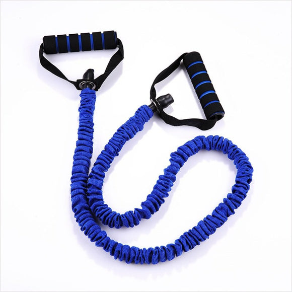 Strengthen 35-45 LBS Resistance Bands Stretch Fitness Elastic Tube Latex Cable Workout Yoga Muscle Exercise Rope - LegPET