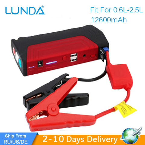 Car Starter High Power Capacity & Emergency Power Bank Battery