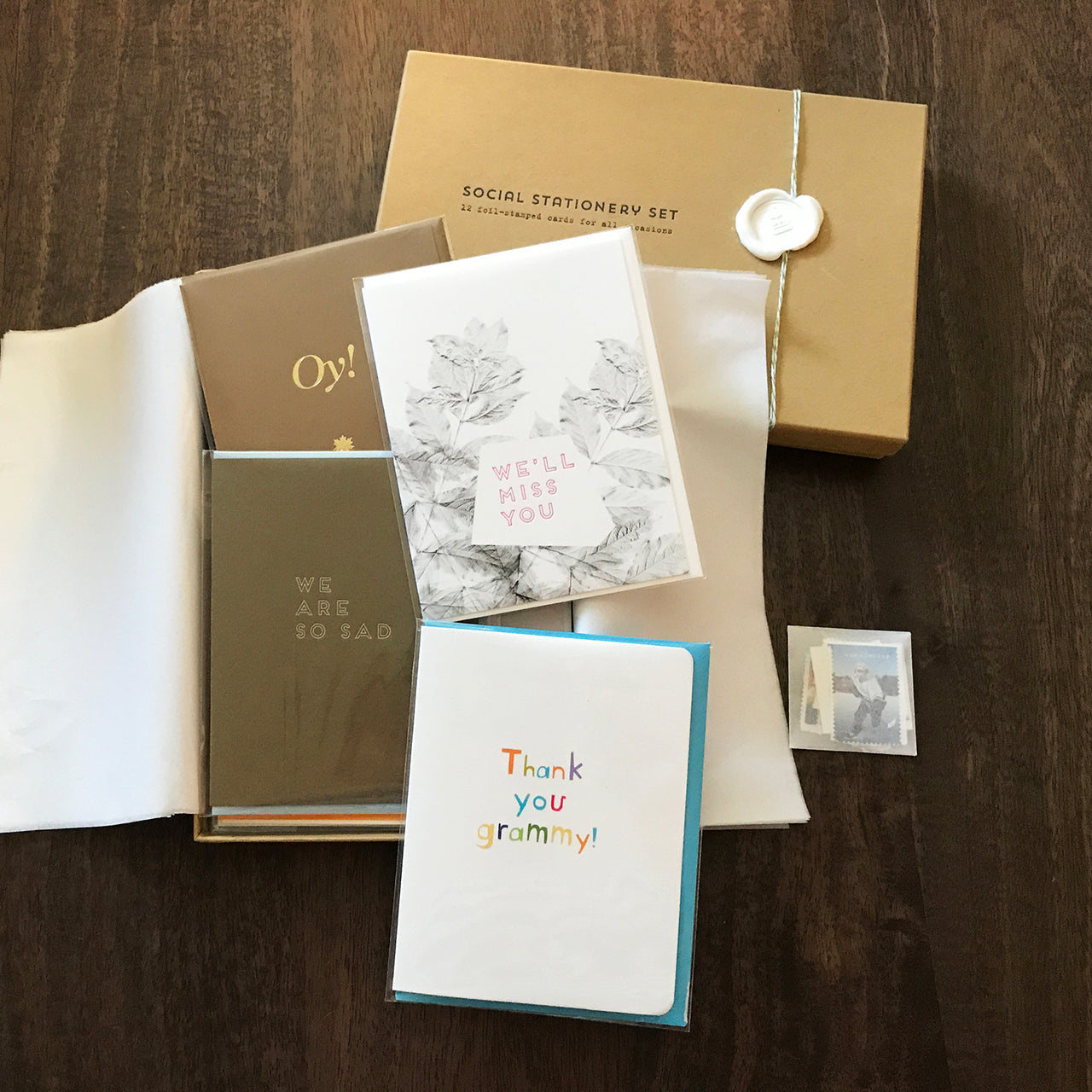SOCIAL STATIONERY SET - FAMILY Edition