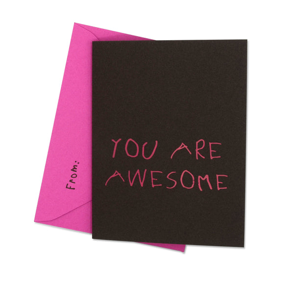 YOU ARE AWESOME - Chocolate