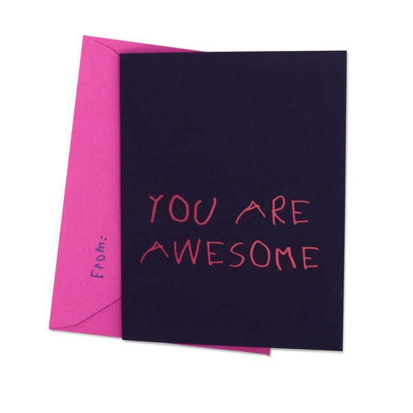 YOU ARE AWESOME - Grape