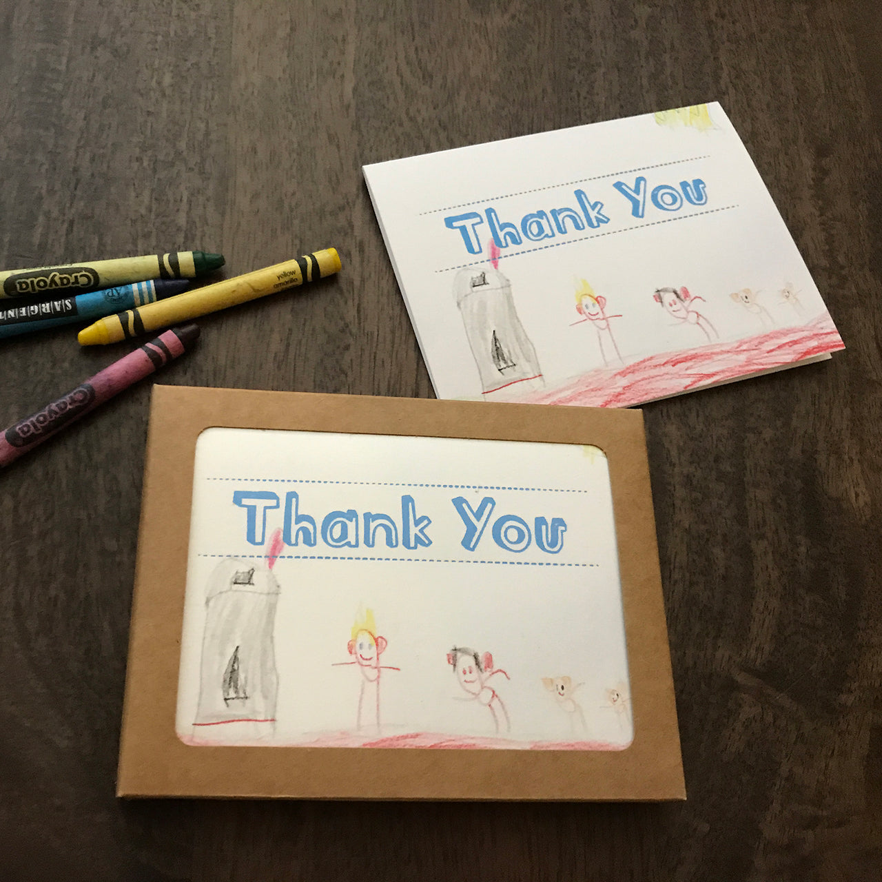 Custom Kids Thank You Cards Visions Paper Llc