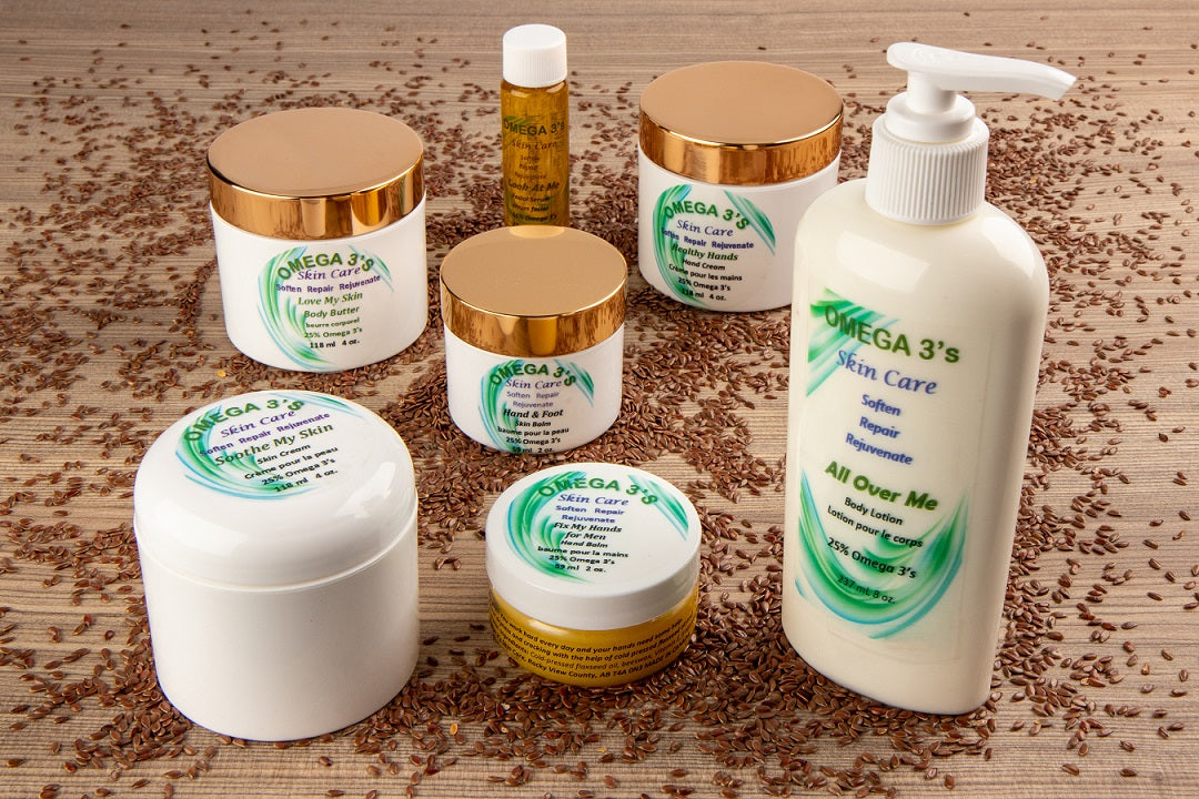 Beautiful, Natural Skin by Omega 3 Skin Care!