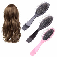 steel wig brush