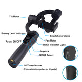 Handheld Gimbal 3-Axis Stabilizer