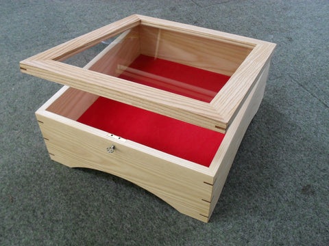 Display box for a historical book. Made from English ash