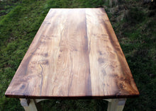 Wildwood Elm table top - top view of table top
