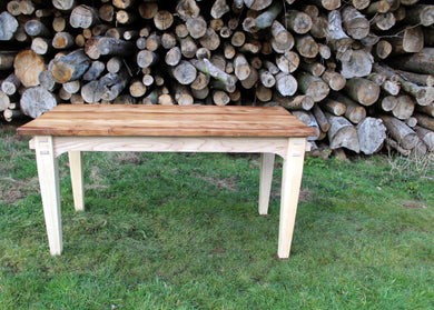 Wildwood Elm table top - side view